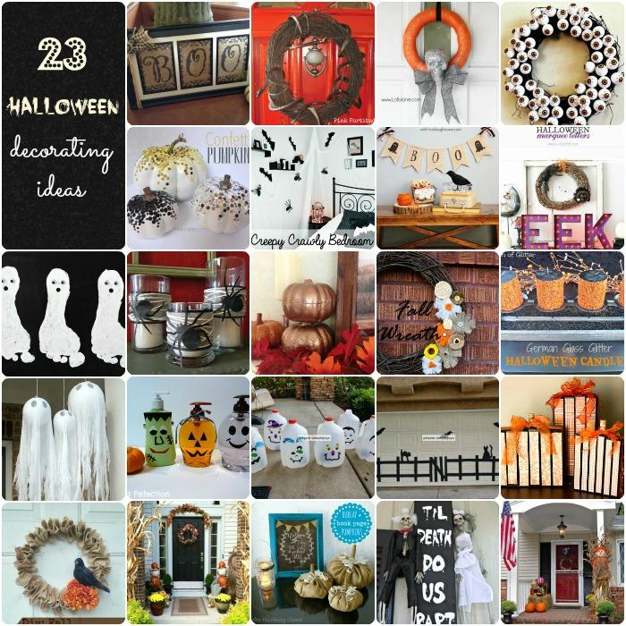 23 Halloween Decorating Ideas