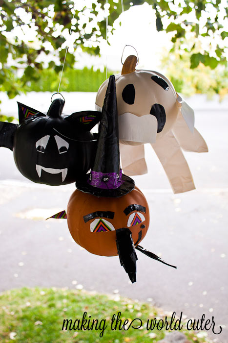 Love these Cute and Easy Pumpkins using Duck Tape| Making the World Cuter #StickOrTreat