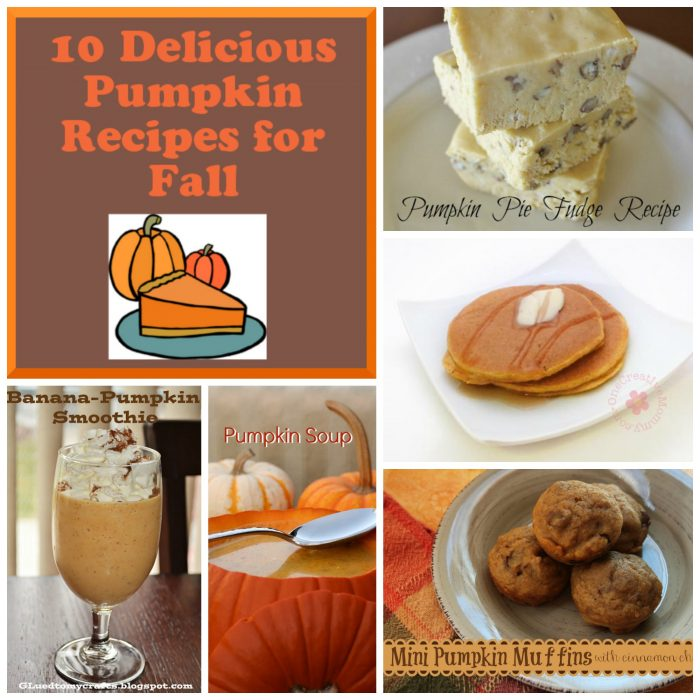 10 Delicious Pumpkin Recipes for Fall