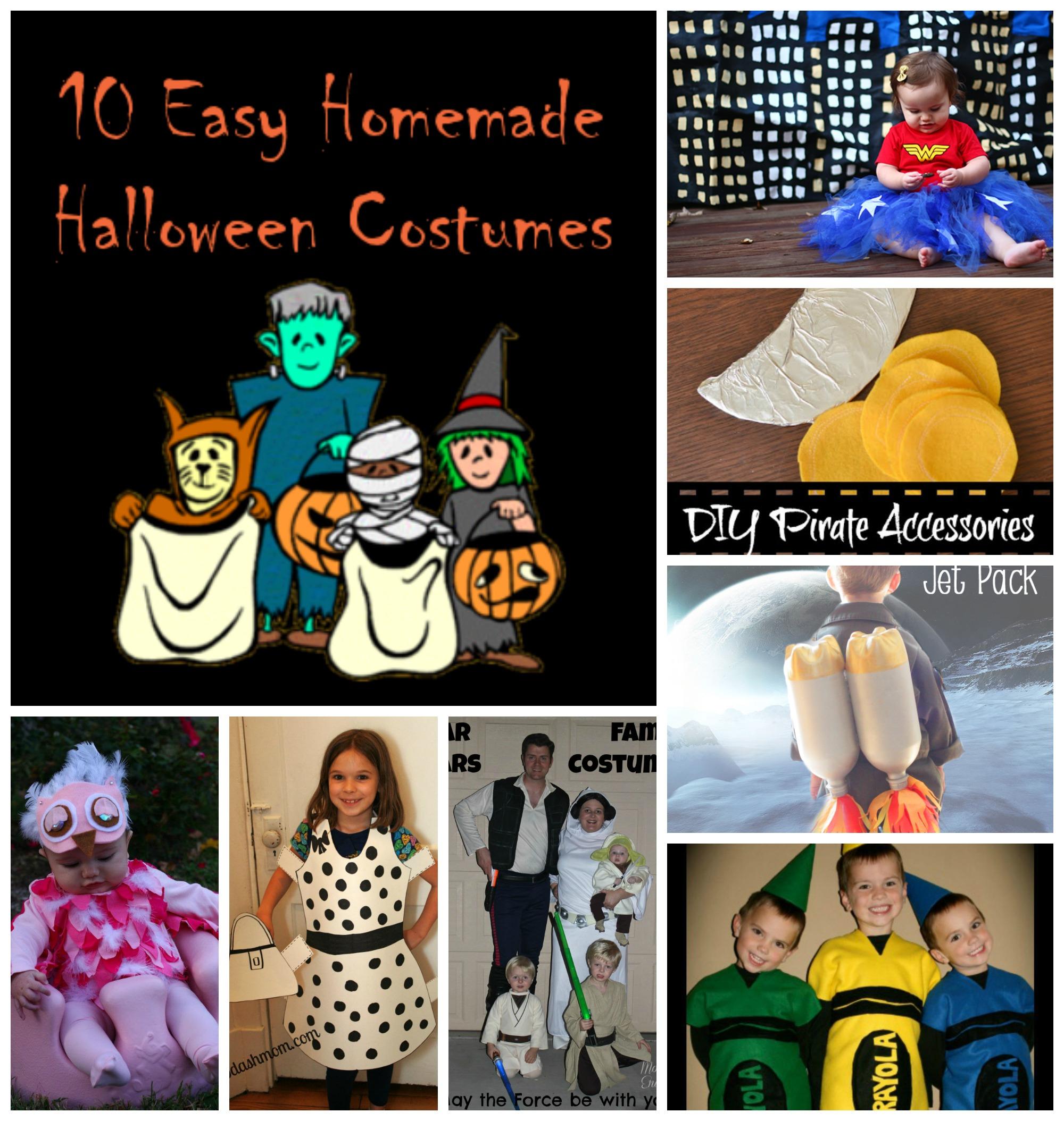 10 Easy Handmade Halloween Costumes