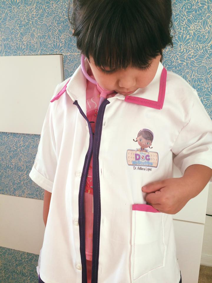 Children's Doctor Costume-DIY Doc McStuffins!