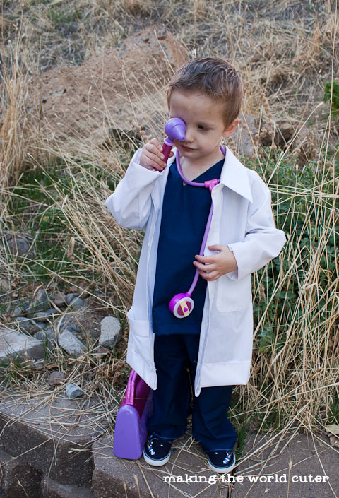 How to sew a DIY Doctor Coat
