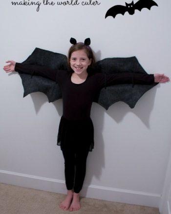 DIY Bat Costume | Making the World Cuter