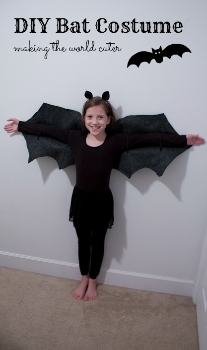 DIY Bat Costume | Making the World Cuter