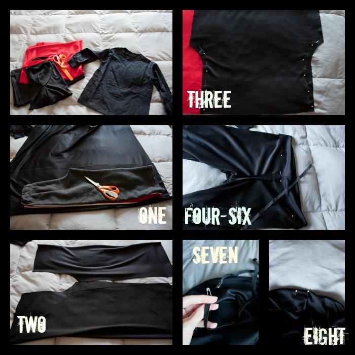 Easy diy ninja costume solutioingenieria Image collections
