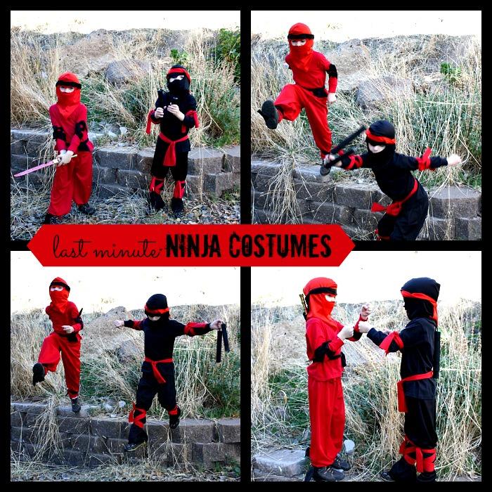 Easy Diy Ninja Costume