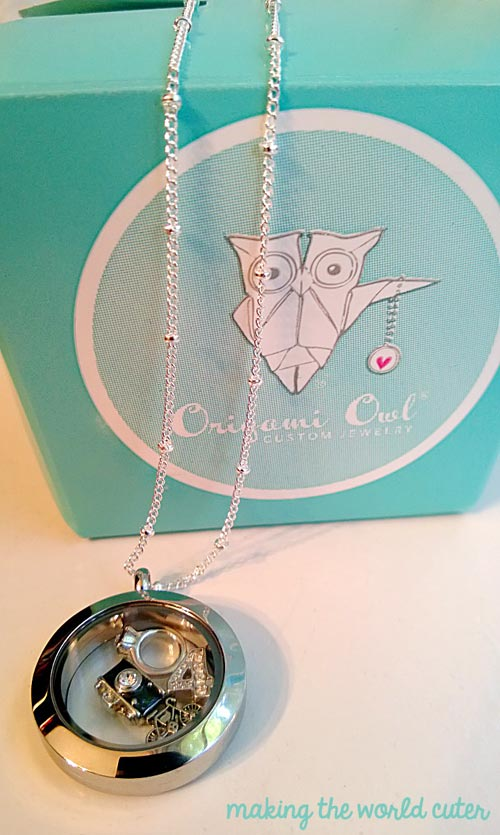 Origami Owl Living Locket | Giveaway on Making the World Cuter