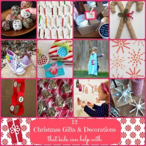 Christmas Gift Ideas Kids can help make | Making the World Cuter