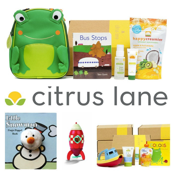 Citrus Lane Giveaway and Review from Making the World Cuter