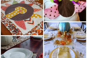 Thanksgiving Tablescape Ideas | Making the World Cuter