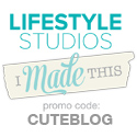 Save 20% at Lifestyle Crafts and We R Memory Keepers by using the promo code CUTEBLOG.