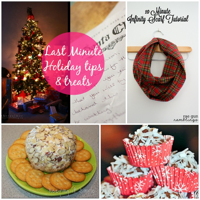 Last Minute Holiday Tips and Tricks