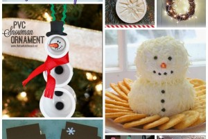Snowman Crafts and Recipes Roundup at Making the World Cuter