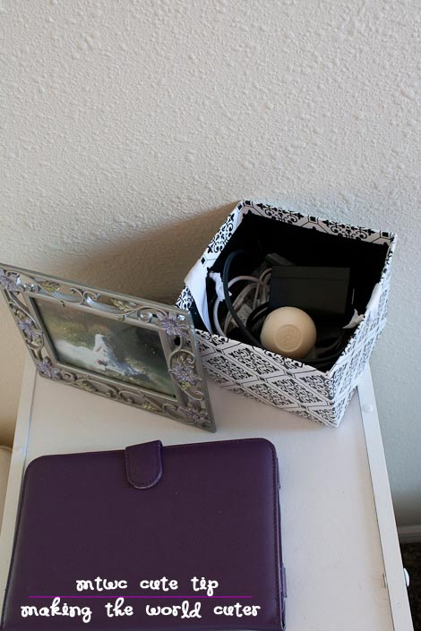 Cute Tip Hide Cords in a Cute Box