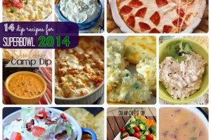 14 dip recipes for Superbowl 2014 | Making the World Cuter Roundup