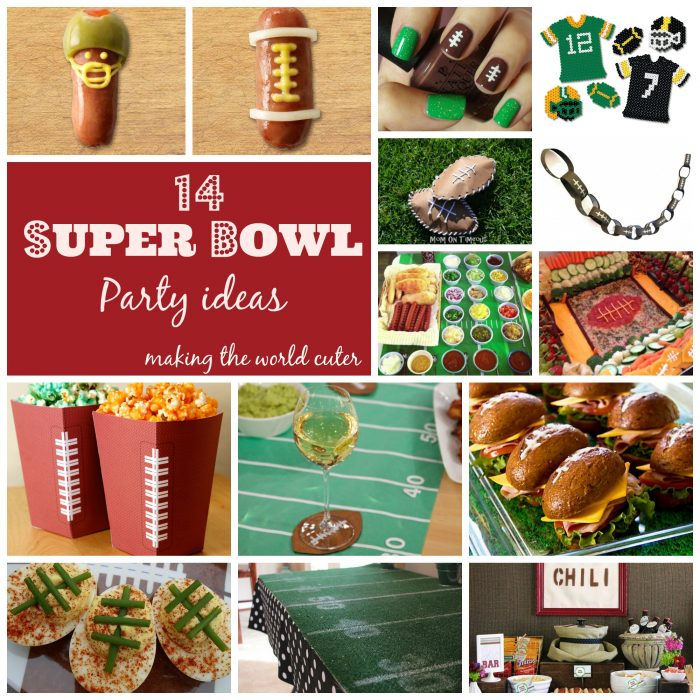 Making the World Cuter 14 Super Bowl Party Ideas