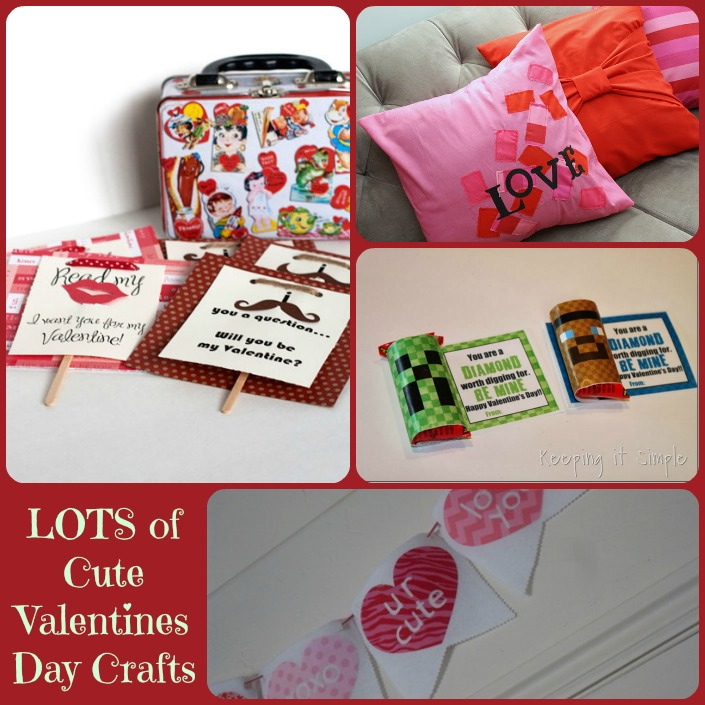 Lots of CUTE Valentine Craft Ideas | Block Party #21