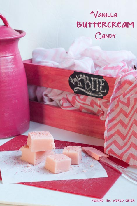 Vanilla Buttercream Candy