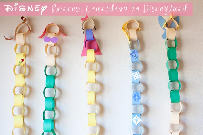 photo regarding Disney Countdown Calendar Printable named Disney Princess Disneyland Countdown