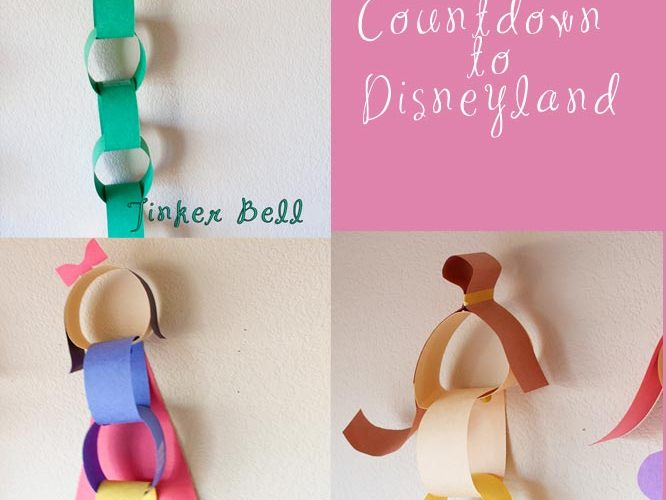 Disney Princess Disneyland Countdown