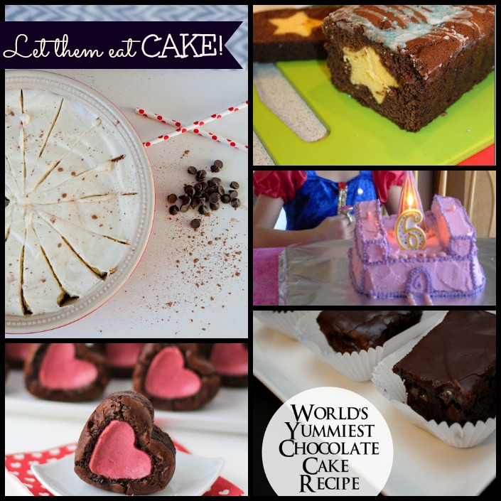 Let them eat cake! 5 yummy cake recipes to try when you just need it! That cheesecake is amazing!