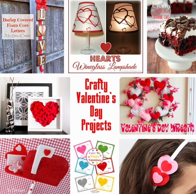 Valentine Craft Ideas | Making the World Cuter Block Party