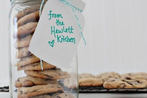 Mason Jar Cookies with Mason Jar Gift Tags using Supplies from We R Memory Keepers and Lifestyle Crafts.