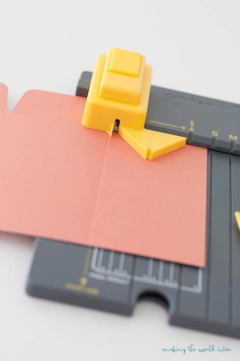 DIY Gift Bags using We R Memory Keepers Punchboards