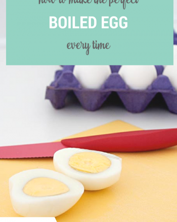 How to make the perfect hard boiled egg every time without all the fancy equipment