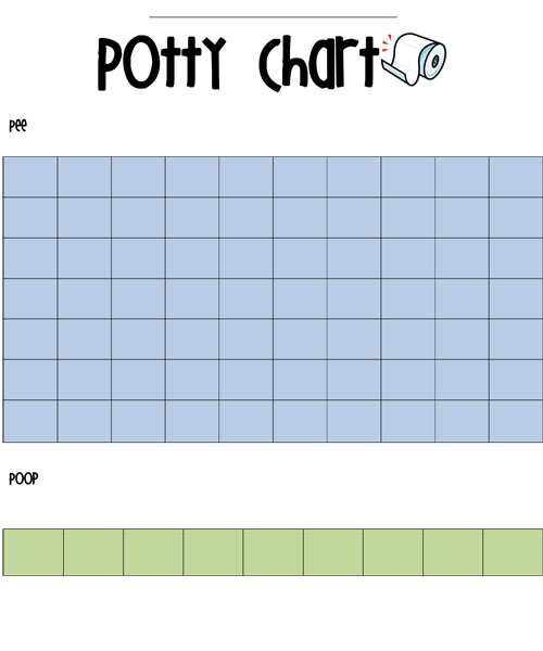 photograph about Printable Potty Sticker Chart called Potty Performing exercises Sticker Chart Totally free Printable