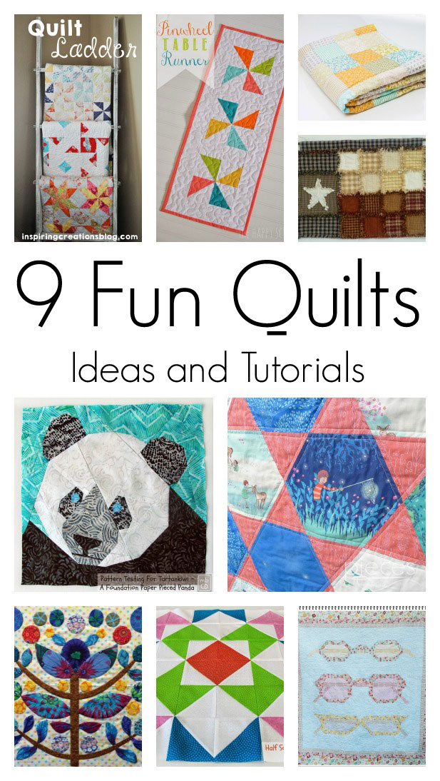 9 Fun Quilting Projects