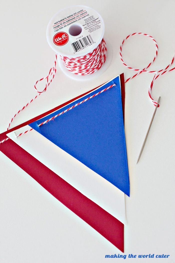 Americana Banner makingtheworldcuter.com