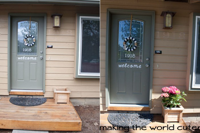 Adding Curb Appeal To My House...A Work in Progress. Making the World Cuter.