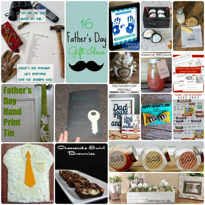 16 Father's Day Gift Ideas on Making the World Cuter
