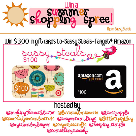 $300 Summer Shopping Spree Giveaway