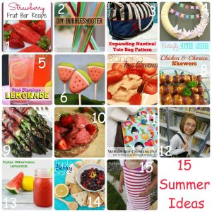 15 Summer Ideas