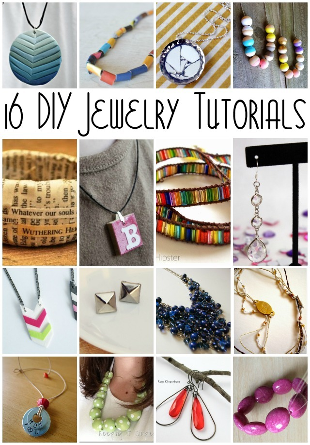 16 DIY Jewelry Tutorials