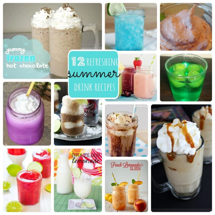 12 Refreshing Summer Drink Recipes
