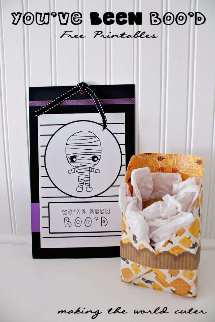 """You've Been Boo'd"" Free Printable"