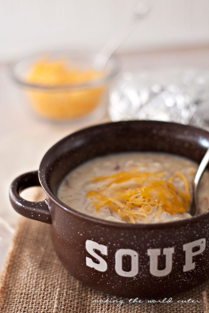 Creamy Baked Potato Soup Recipe