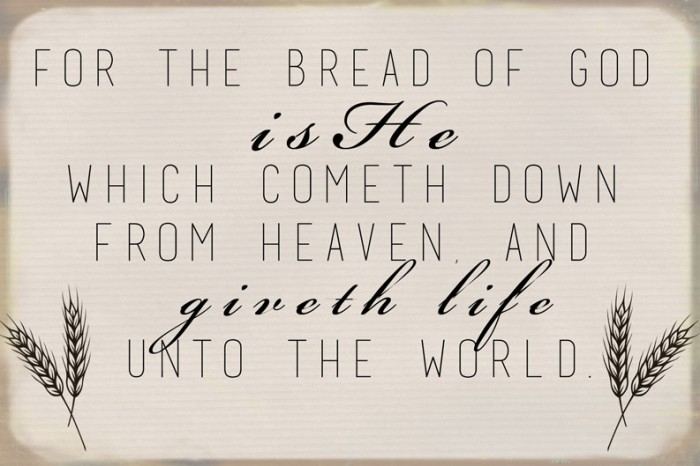 October Visiting Teaching Message Handout. Would be super cute to give with a loaf of bread, or a basket of rolls.