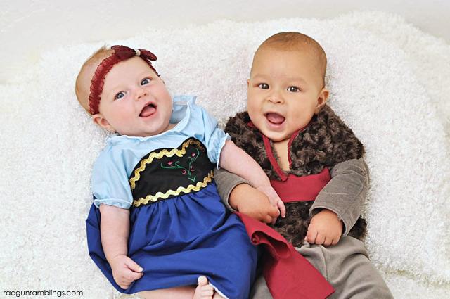 Anna and Kristoff costume tutorials