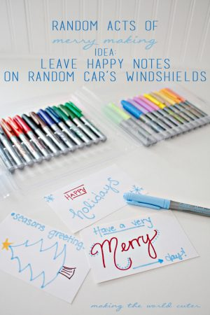 Random Acts of Merry Making