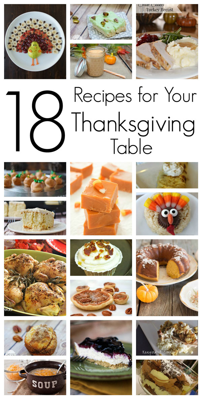 18 Thanksgiving Recipes
