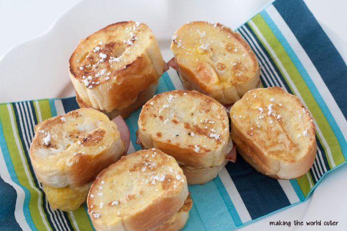 French Toast Sliders
