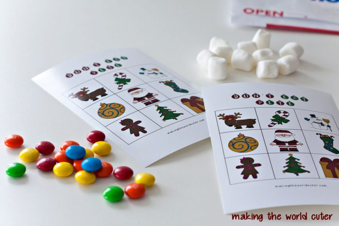 Don't Eat Pete Christmas Printable Game