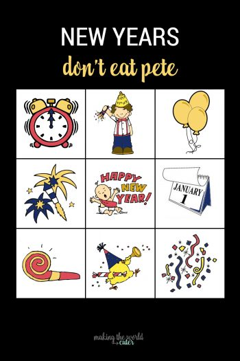 New Years Game Don't Eat Pete