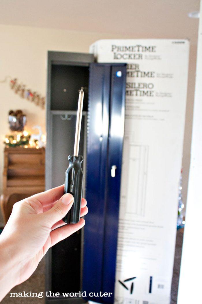 Easy Installation Locker