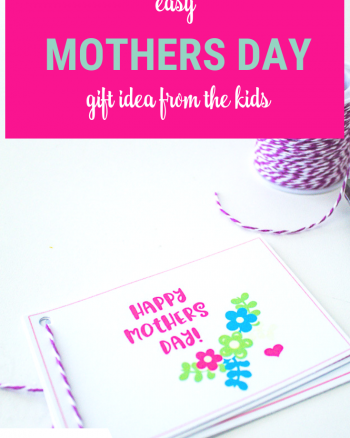 Mother's Day Printable Coupon Books. Just one page!