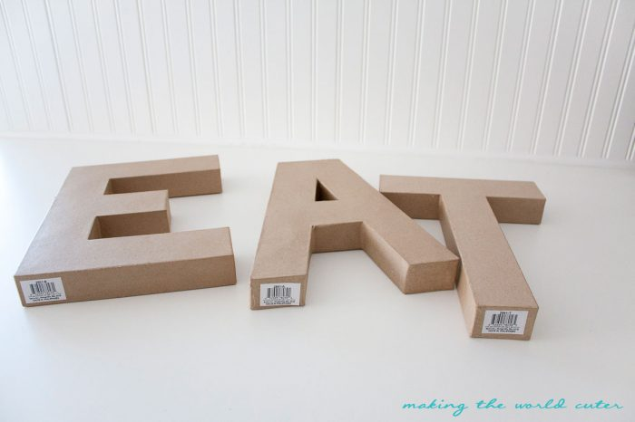 eat sign kitchen gallery wall